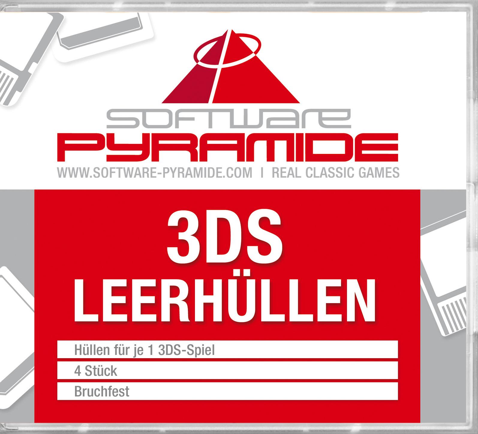 3DS-Leerhüllen 4er-Pack, weiß