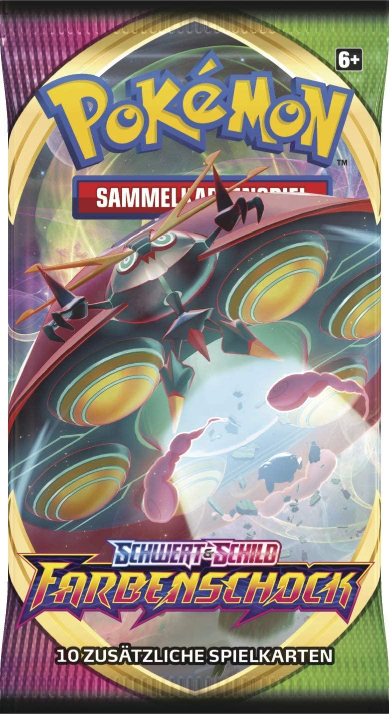 Pokémon - Schwert & Schild Serie 4 - Farbenschock - Display mit 36 Boosterpackungen