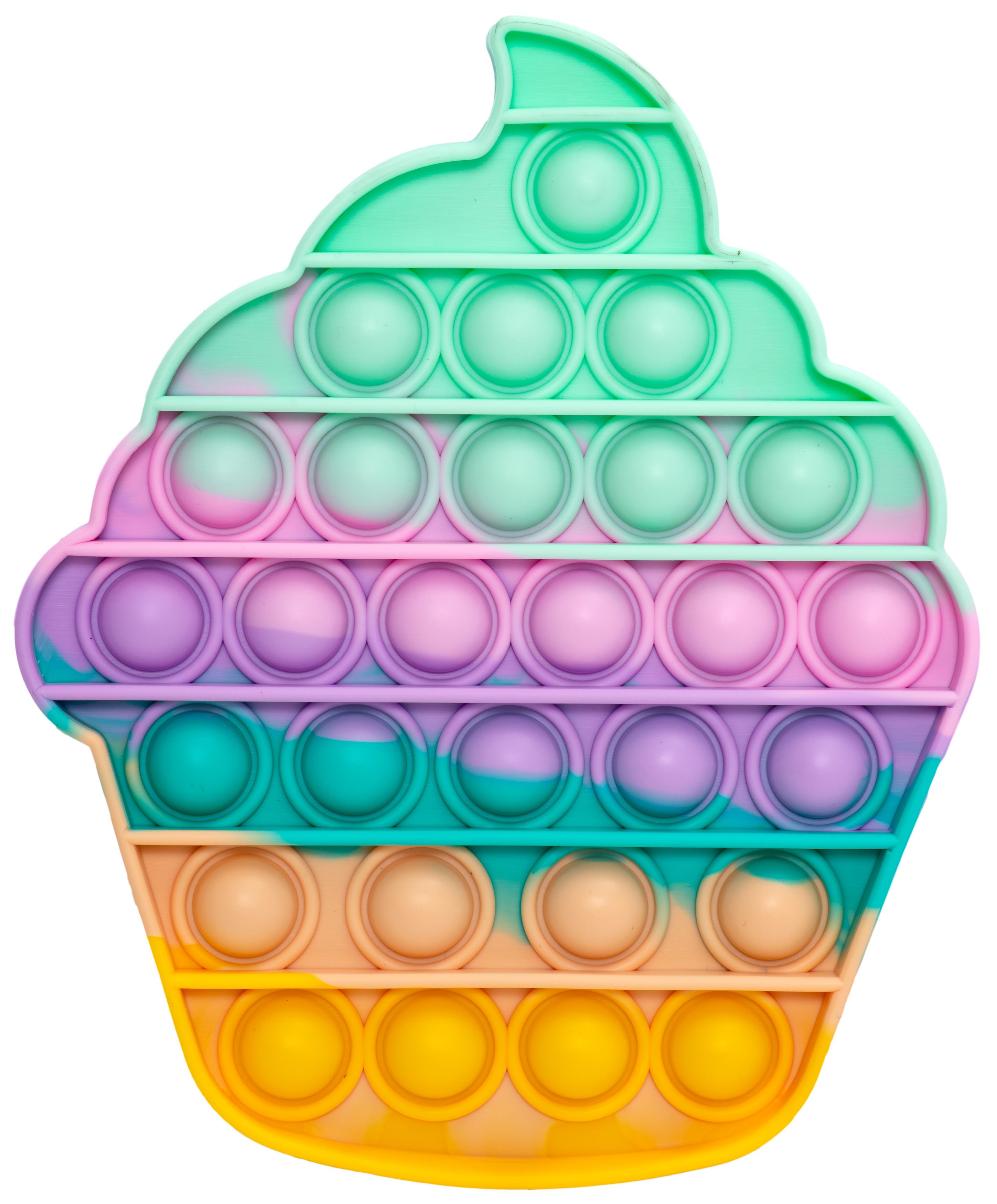 Pop it's - Multicolor Cupcake